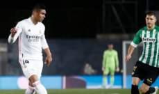 ريال مدريد يواصل اهدار النقاط ويكتفي بالتعادل السلبي امام بيتيس