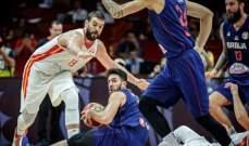 مدرب صربيا: اسبانيا استحقت الفوز بهذا اللقاء