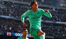 ريال مدريد يرسل تحذيراً مباشراً لبرشلونة بعد تفوقه على جاره اسبانيول بثنائية