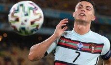 رونالدو يحرز لقب هداف يورو 2020