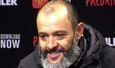 نونو سانتو: مباراتنا امام مانشستر يونايتد كانت جيدة وقوية