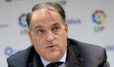 تيباس: انفانتينو دعم فكرة دوري السوبر الأوروبي