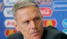 فان باستن يطالب فان دايك بالانتقال الى الدوري الاسباني