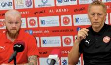 مدرب النادي العربي: حققنا فوزاً مهماً على ام صلال