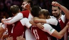 مونديال كرة الطائرة: بولندا تواصل تألقها وسقوط ايطاليا امام اميركا