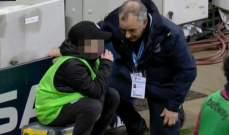 جامع الكرات في مباراة السيتي وويست هام يتلقى المواساة بعد خطأه