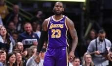NBA: الليكرز يعزز صدارته شرقياً بفوز على وصيفه دنفر بعد وقت اضافي واحد