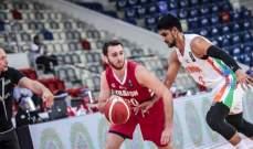 تصفيات كاس اسيا لكرة السلة 2021: لبنان مستمر بصدارة مجموعته ويسجل رقماً قياسياً