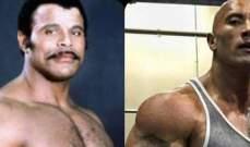 وفاة روكي جونسون والد المصارع ذا روك