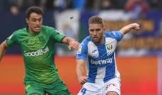 رودريغيز يمنح ليغانيس الفوز على سوسييداد في الدقيقة الاخيرة