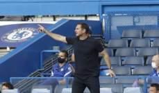 لامبارد: سعيد بما قدمناه امام ليفربول وخطأ كيبا كبير