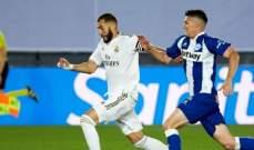 موجز الصباح: ريال مدريد يعبّد طريق الفوز باللقب بتخطيه الافيس، برشلونة يواجه بلد الوليد و97 اصابة بالكورونا في الدوري السعودي