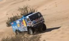 رالي داكار: شيبالوف والفريق الروسي الافضل في فئة الشاحنات