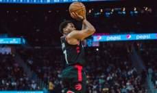 تورنتو رابترز ثاني فريق يصل الى الادوار النهائية من NBA