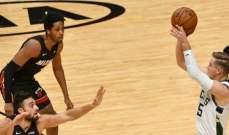 ميلووكي يسجل رقماً قياسياً جديداً في تاريخ الرابطة الوطنية لكرة السلة