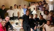 راموس ينشر صورة لزملائه في عشاء الفريق