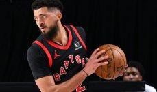 NBA تقرر فصل لاعب تورنتو رابترز بسبب المخدرات