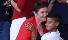 والدة رونالدو تعايد حفيدها بكلمات عاطفية