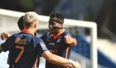 الدوري الفرنسي: فوز مهم لـ مونبلييه على ضيفه نيس