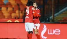 الدوري المصري: الأهلي يحقق فوزا سهلا على طلائع الجيش
