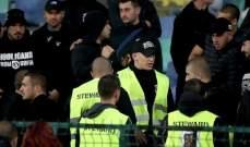 هل شارك رجال الأمن بالهتافات العنصرية خلال مباراة بلغاريا وانكلترا؟