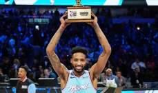 عقد رعاية من بوما للفائز بمسابقة السلة الاستعراضية ديريك جونز