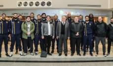 الرياضي يغادر الى الامارات للمشاركة ببطولة دبي