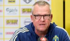 اندرسون يشير الى امكانية عودة ابراهيموفيتش الى المنتخب السويدي