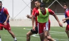 منتخب لبنان لكرة القدم يطلق تمارينه بقيادة جمال طه