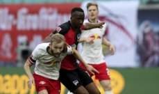 لايبزيغ يفشل في اقتناص الوصافة بتعادل صعب امام هيرتا برلين
