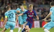 3 من لاعبي برشلونة لن يغيبوا عن الفريق بعد 5 جولات على انطلاق دوري الابطال