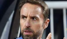 ساوثغايت: قد لا أكون أنا مدرب انكلترا في كأس العالم 2022