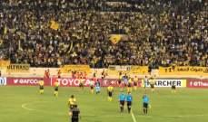 العهد اللبناني يتأهل الى نهائي كأس الاتحاد الاسيوي بفوزه على الجزيرة الاردني