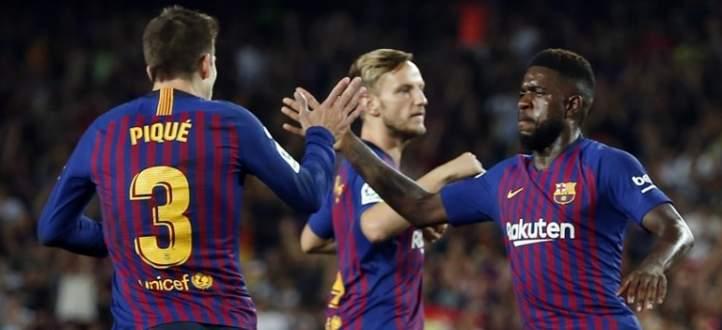 اهداف مباراة برشلونة وجيرونا الاربعة