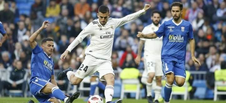 اهداف مباراة ريال مدريد وميليا السبعة
