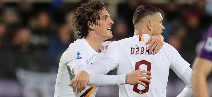 اهداف مباراة روما وفيورنتينا في الدوري الايطالي