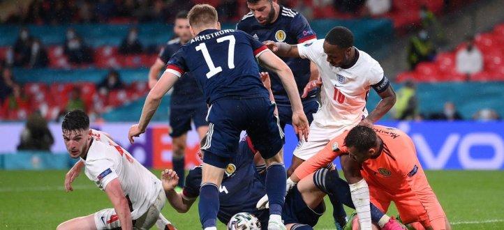 ابرز مجريات مباراة انكلترا واسكتلندا
