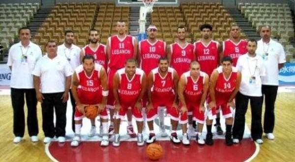 خاص: مشاركات منتخب لبنان لكرة السلة رجال في بطولات العالم