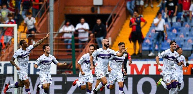 أحداث مباراة جنوى وفيورنتينا في الدوري الايطالي
