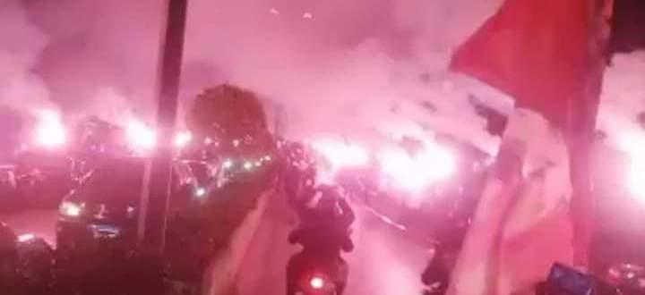 مسيرة حمراء
