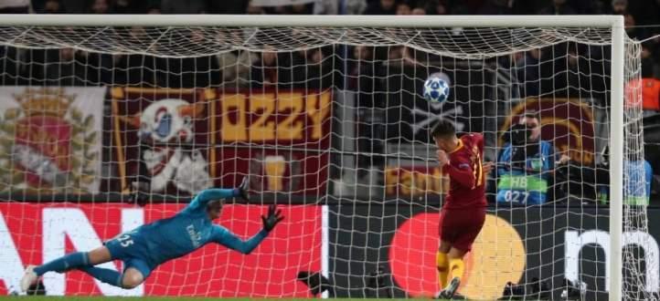 اوندير يحرم روما من افتتاح التسجيل امام ريال مدريد بفرصة لا تضيع