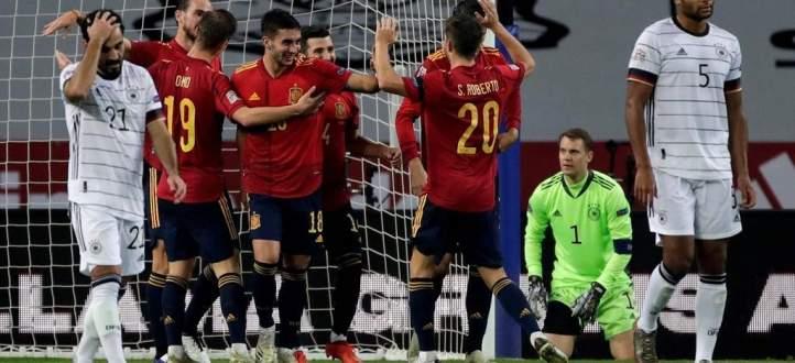 اهم مجريات مباراة اسبانيا - المانيا