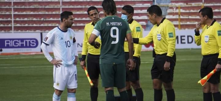 مباراة بوليفيا لم تمر على خير مع ميسي