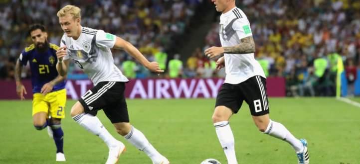 اهداف مباراة المانيا والسويد