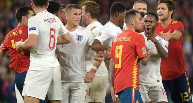 اهداف مباراة اسبانيا وانكلترا الخمسة