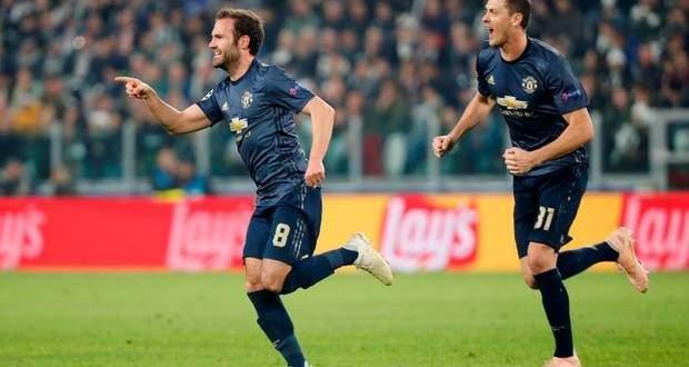 اهداف مباراة مانشستر يونايتد ويوفنتوس في الجولة الرابعة من دوري الابطال