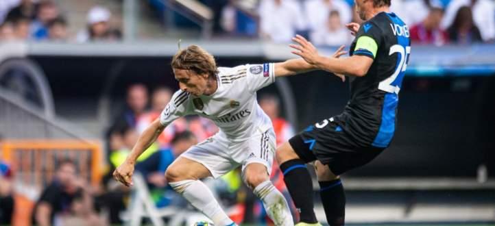 اهداف مباراة ريال مدريد وكلوب بروج في دوري ابطال اوروبا