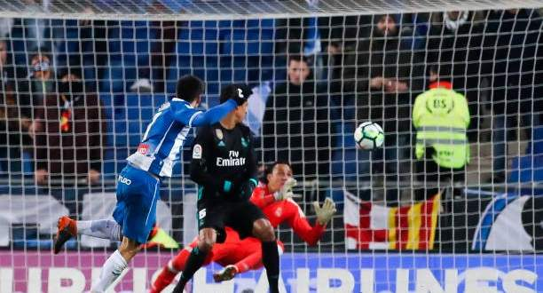 هدف اسبانيول في مرمى ريال مدريد
