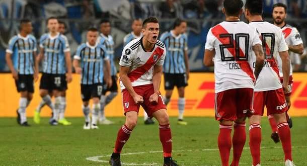 ثلاثية مباراة ريفير بلايت وغريميو في نصف نهائي ليبرتادوريس