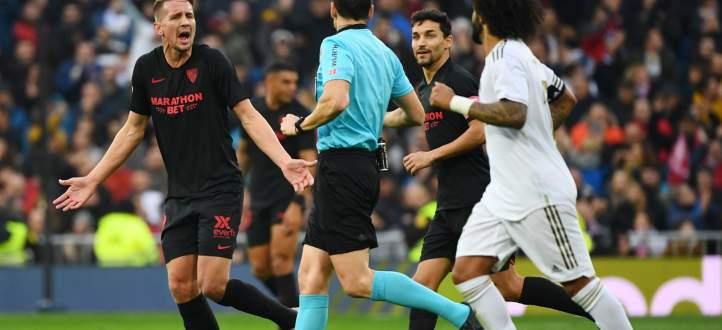 ابرز لقطات مباراة ريال مدريد واشبيليه